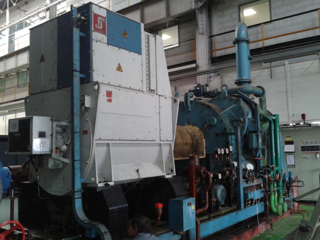 Moteur de compresseur 2100kW - Cléon